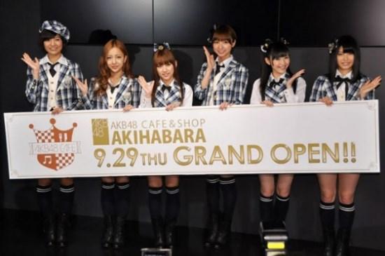 Grand Opening AKB48 Cafe