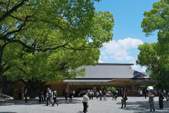Kuil Atsuta di Nagoya