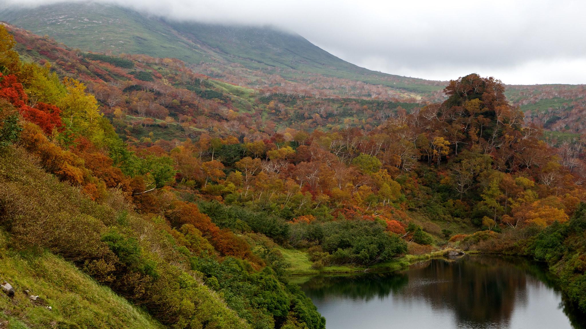 Pemandangan dari Kogen Onsen