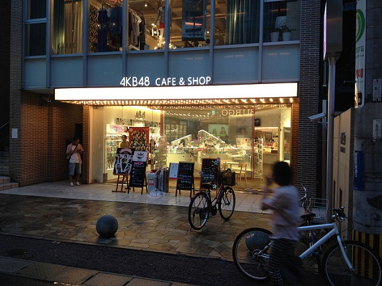 AKB48 Cafe di Fukuoka