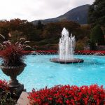 Air mancur raksasa di Taman Gora Hakone
