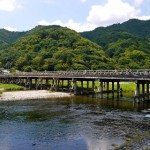 Arashiyama waktu musim panas