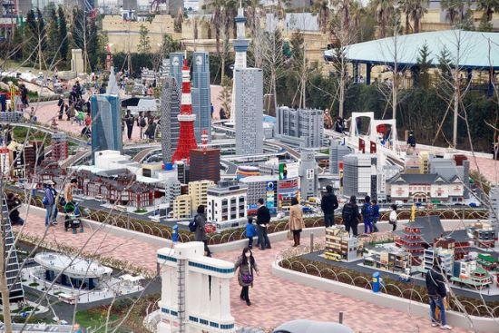 Area Miniland di Legoland Nagoya