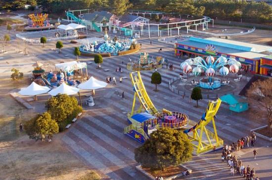 Arena permainan di Hitachi Seaside Park