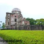 Pergi ke Atomic Bomb Dome di Hiroshima