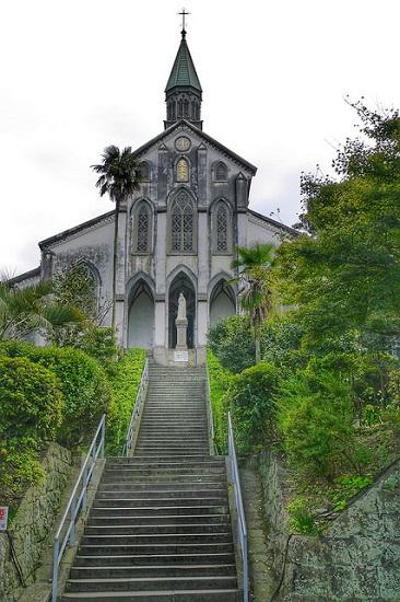Bangunan Gereja Katedral Oura Nagasaki
