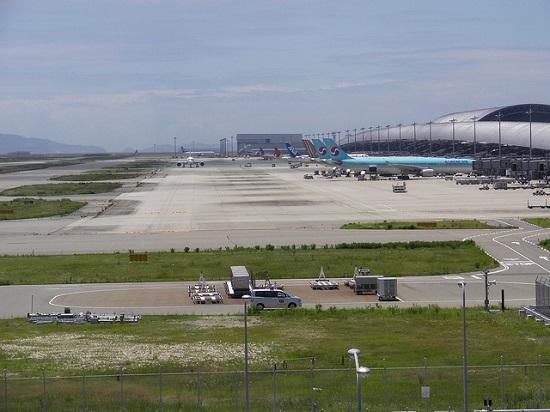 Bangunan Kansai Airport yang megah