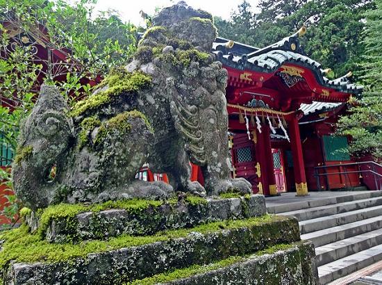 Bangunan Kuil Hakone