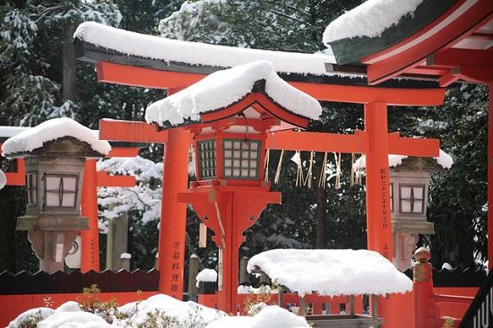 Bangunan Kuil Yoshida Kyoto
