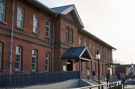 Bangunan Museum Kereta Kyushu