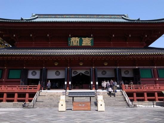 Bangunan Sanbutsudo di kompleks Kuil Rinnoji Nikko