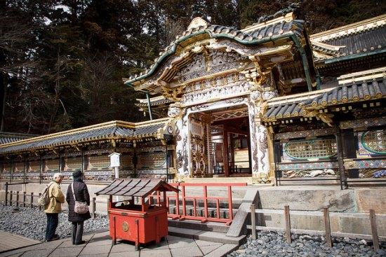 Bangunan utama Kuil Nikko Toshogu