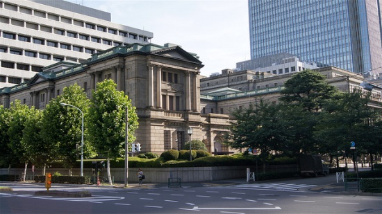 Bank of Japan tampak depan