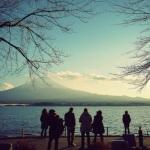 Berjalan sekeliling danau Kawaguchiko