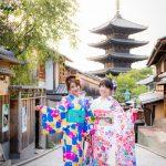 Berkeliling Kyoto dengan kimono Yumeyakata