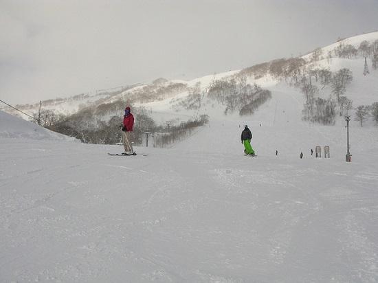 Bermain ski di Resort Ski Niseko