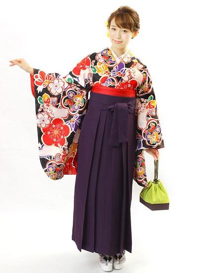 Berpose dengan kimono