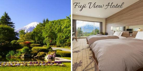 Daftar Private Onsen di Danau Kawaguchi: Fuji View Hotel