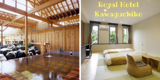 Daftar Private Onsen di Danau Kawaguchi: Royal Hotel Kawaguchiko