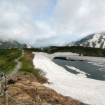 Danau Mikurigaike di Tateyama di bulan Juni