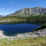Danau Mikurigaike di Tateyama di bulan September