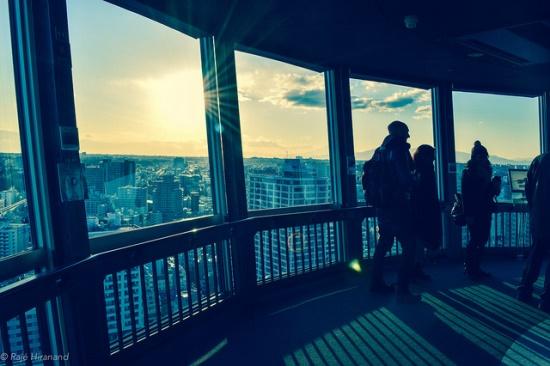 Dek observasi Yokohama Marine Tower