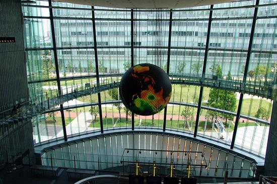 Earth Today di Museum Miraikan Tokyo