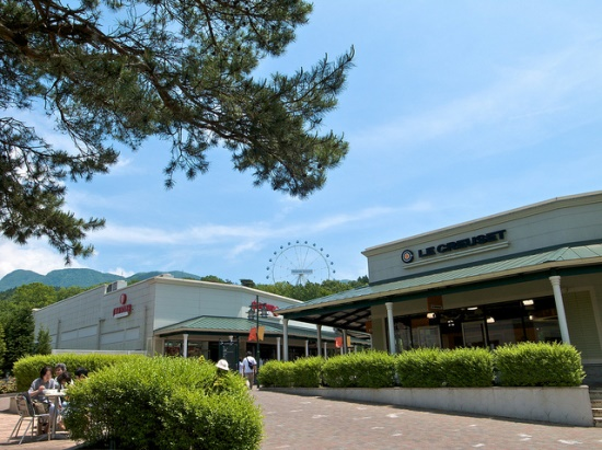 Ferris Wheel di Gotemba Premium Outlets