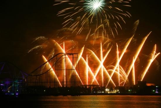 Festival Kembang Api Hakkeijima Sea Paradise
