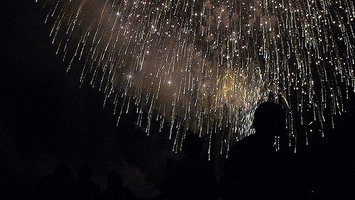 Festival Kembang Api Omagari