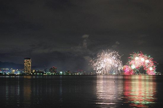 Festival Kembang Api di Danau Biwako