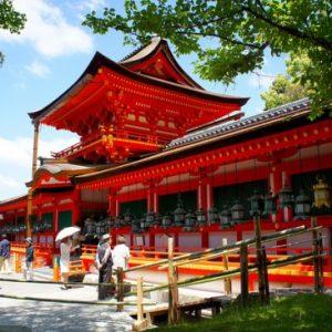 Festival Lentera Mantoro di Kuil Kasuga Taisha Nara