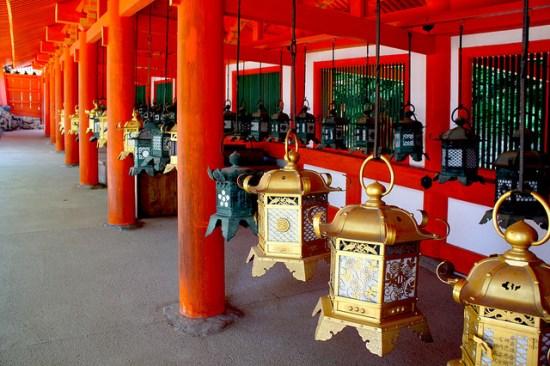Festival Lentera Mantoro di Kuil Kasuga Taisha