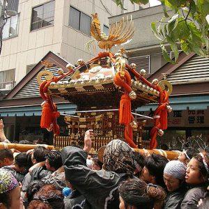 Festival Sumiyoshi di Osaka