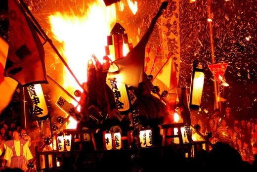 Festival api di Jepang