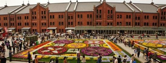 Flower Garden Festival di Yokohama