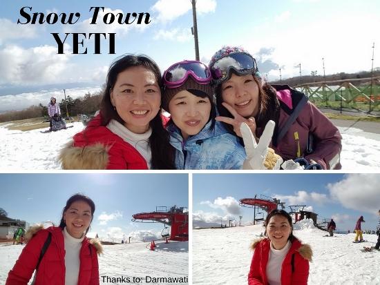 Foto jalan-jalan ke Snow Town Yeti