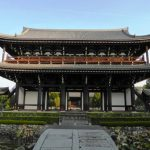 Gerbang Sanmon di Kuil Tofukuji