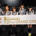 Grand Opening AKB48 Cafe