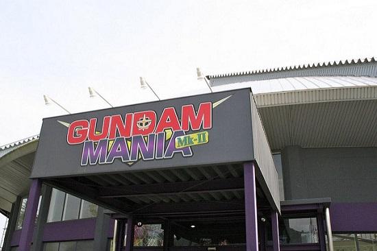 Gundam Mania di Fujikyu Highland