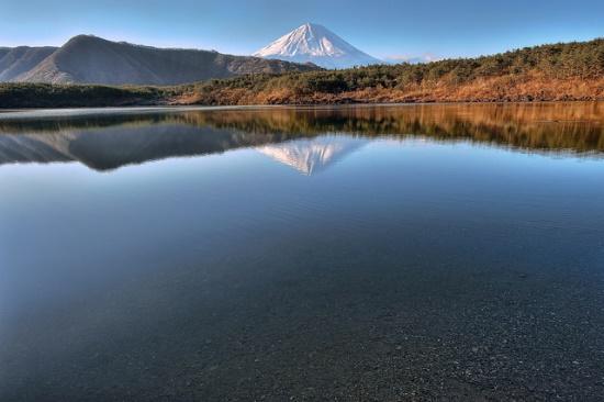 Gunung Fuji dari Danau Saiko