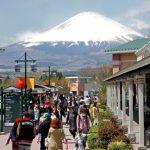 Gunung Fuji dari Gotemba Premium Outlets