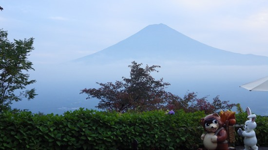 Gunung Fuji dari Kachikachi-yama