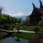 Gunung Fuji dari Kawaguchiko Music Forest