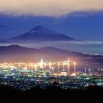 Gunung Fuji dari Pantai Shimizu Shizuoka