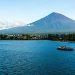 Gunung Fuji dari Yamanashi