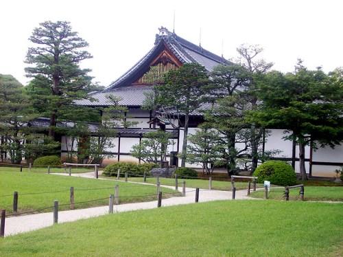 Halaman dalam Istana Nijo Kyoto