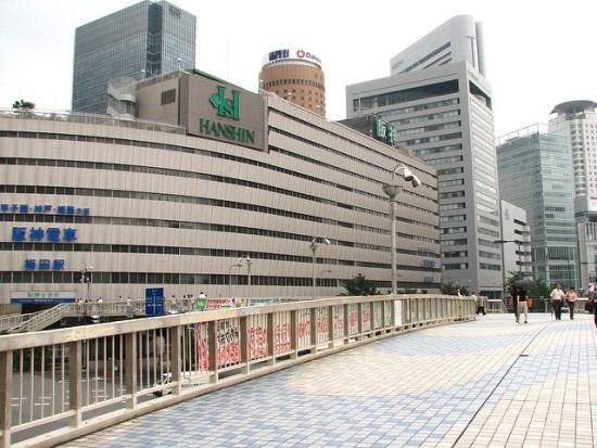 Hanshin Tourist Pass Stasiun kereta Hanshin Umeda