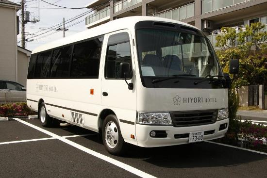 Hotel Murah Dekat Tokyo Disney Resort shuttle bus Hiyori Hotel