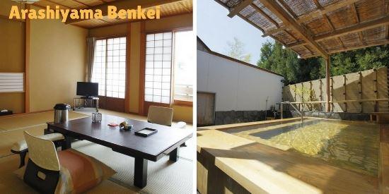Hotel dengan Private Onsen di Kyoto: Benkei